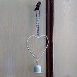 Petit coeur à suspendre en métal