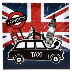 Cadre toile Taxi Londonien