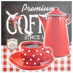 Cadre toile Tasse de Café - Petit Déjeuner