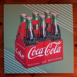 Toile Coca Delicious and Refreshing