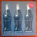 Toile Coca-Cola Bottles and Peas