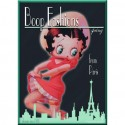 Plaque Betty Boop Fashions