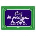 Plaque Place du Marchand de Sable