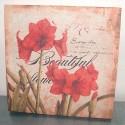 Toile imprimée Beautiful Flowers