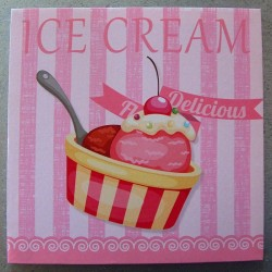 Toile One Cup Ice Cream