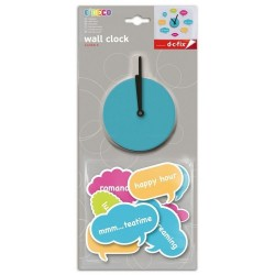 Horloge stickers bulles Emotions BD