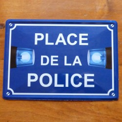 Plaque Place de la Police