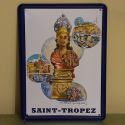 Plaque Saint-Tropez par Willy Kuhn