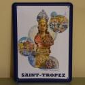 Plaque Saint-Tropez par Willy Kuhn