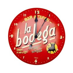 Horloge Bar à Tapas La Bodega