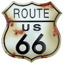 Plaques Route 66